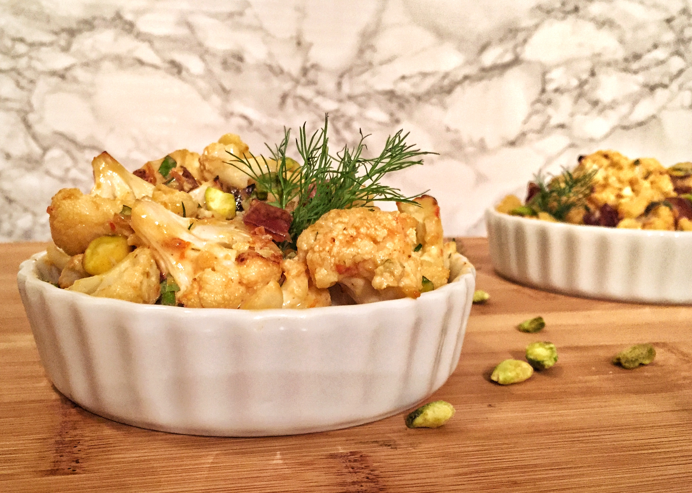 Roasted Mediterranean Cauliflower A True Food Kitchen Inspired Recipe