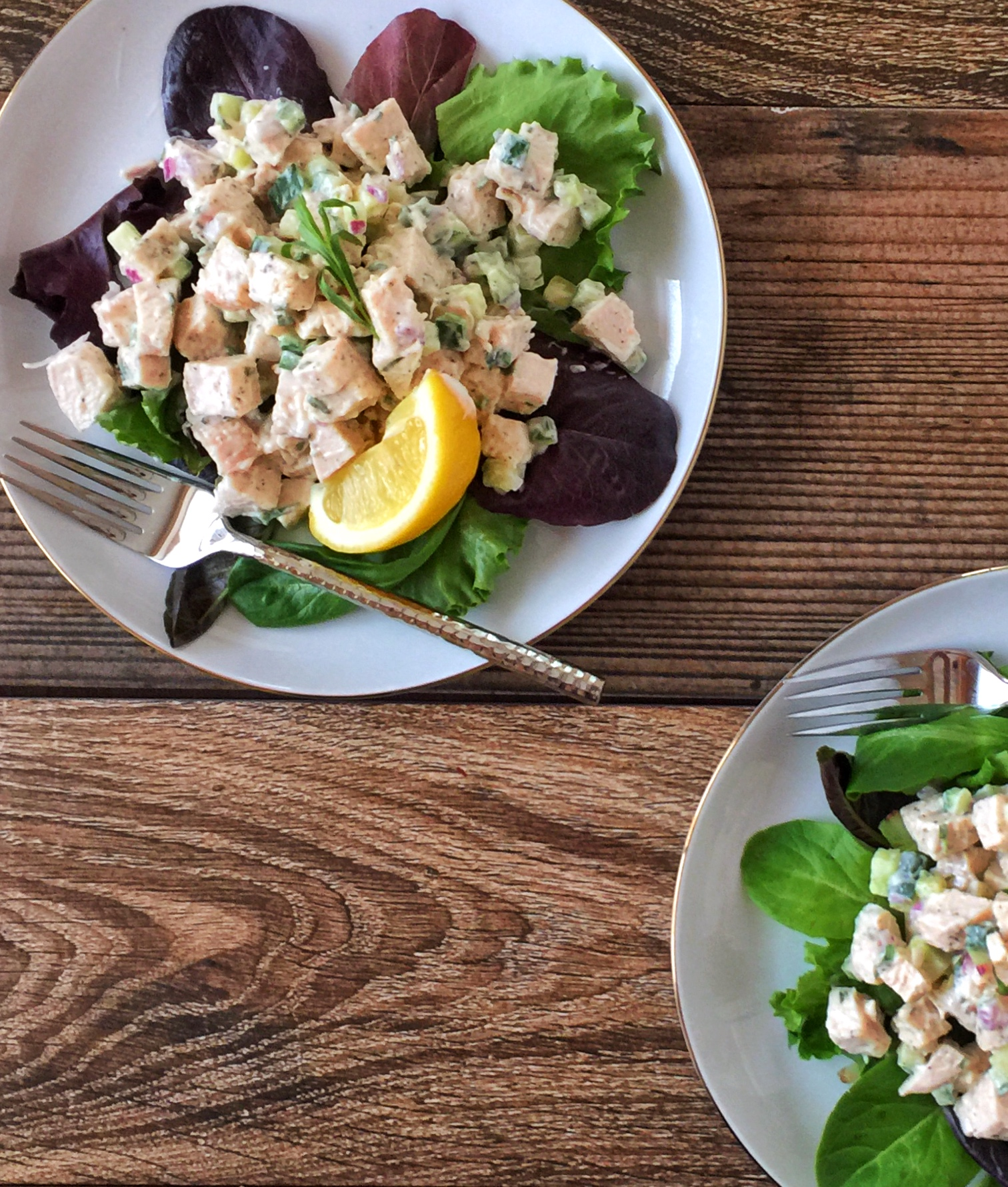 Tarragon Chicken Salad: Saturday Lunch For Two